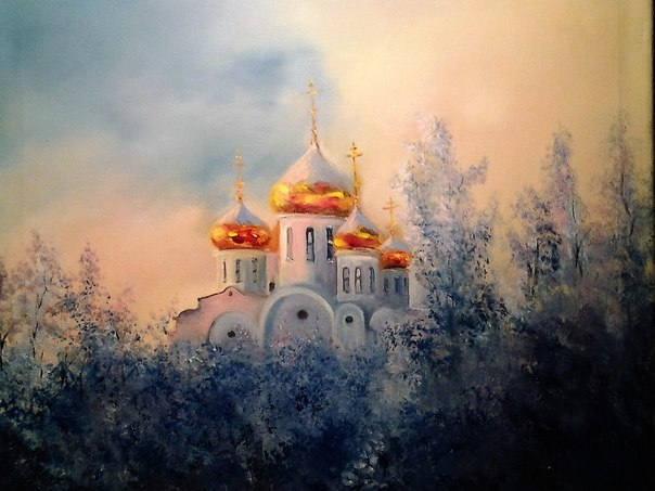 Золотые купола Работа Шамиля Валиахметова